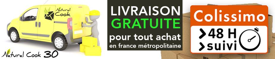 Natural Cook France livraison gratuite
