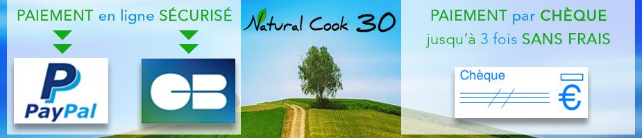 Paiement en ligne sécurisé Natural Cook